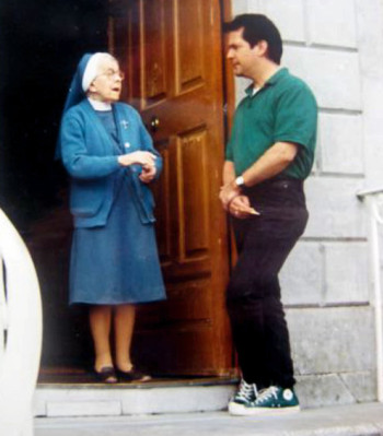 Philomena's son visited the convent as an adult, searching for his birth mother.