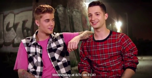 Justin Bieber and Choreographer Nick DeMoura