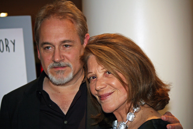 "Director Michael Maren and Linda Lavin at the New York premiere of ""A Short History of Decay"" 
