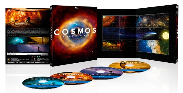 The Cosmos series DVD and Blu-ray with many extras will be released on June 10.