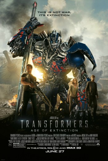 Transformers Extinction Poster 2