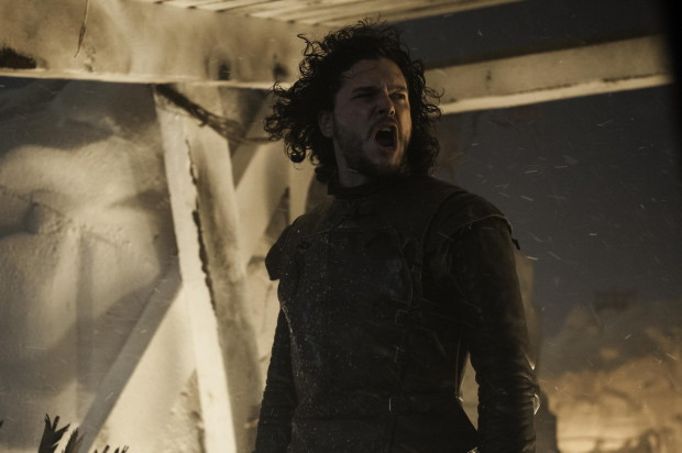 Jon Snow channels his inner Michael Jackson...