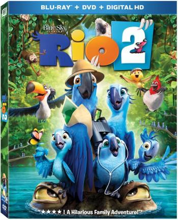Rio Blu-ray DVD Cover