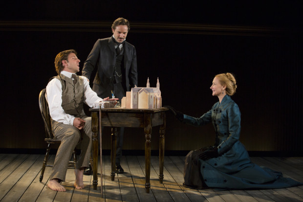 "Bradley Cooper, Alessandro Nivola, and Patricia Clarkson in ""The Elephant Man"" T. Charles Erickson Photo"
