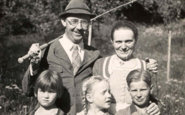 Heinrich Himmler and his family