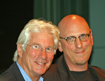 Richard Gere and Oren Moverman at the NY Film Festival | Melanie Votaw Photo