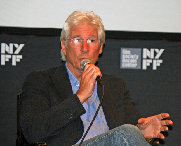 "Richard Gere talks about ""Time Out of Mind"" at the  2014 New York Film Festival at Lincoln Center 