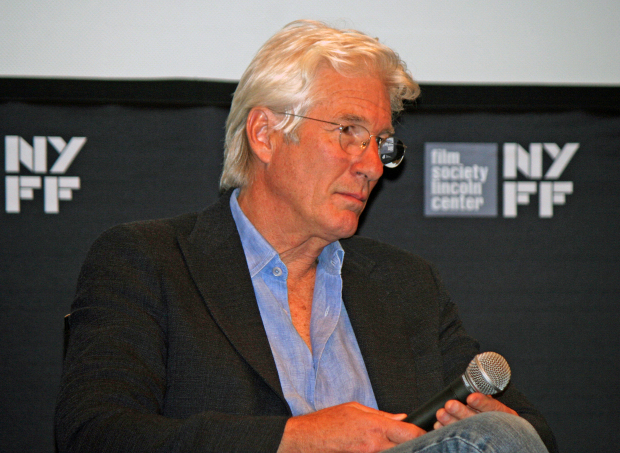 Richard Gere at the 2014 New York Film Festival | Melanie Votaw Photo
