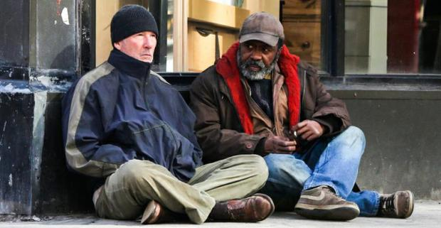 "Richard Gere and Ben Vereen in ""Time Out of Mind"""