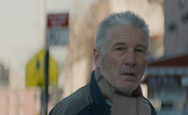"Richard Gere in ""Time Out of Mind"""