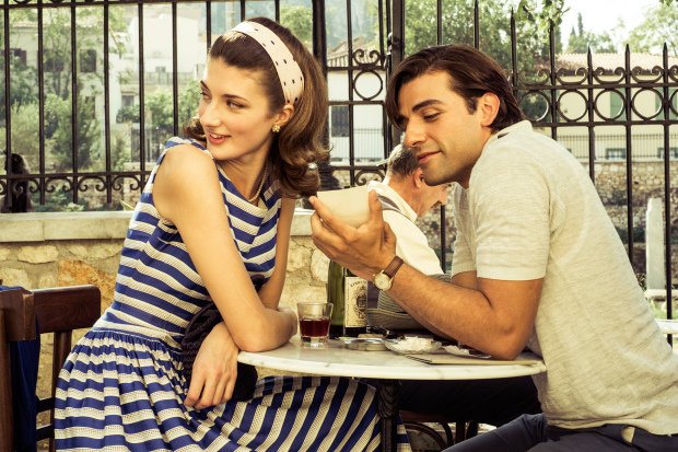 "Daisy Bevan and Oscar Isaac in ""The Two Faces of January""  