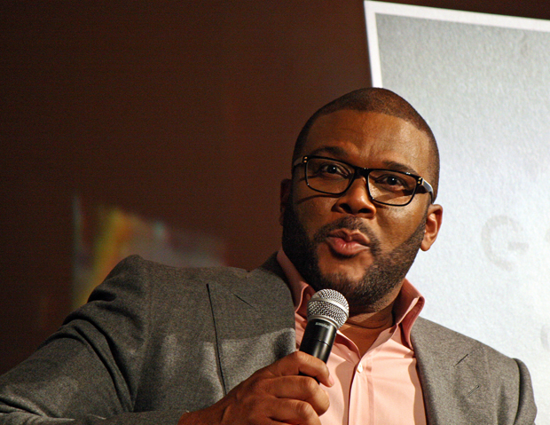 Tyler Perry at the NY Film Festival | Melanie Votaw Photo