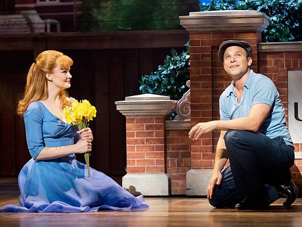 "Norbert Leo Butz with Kate Baldwin in ""Big Fish"" on Broadway"