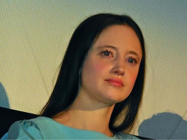 "Andrea Riseborough at the ""Birdman"" press conference in NYC 