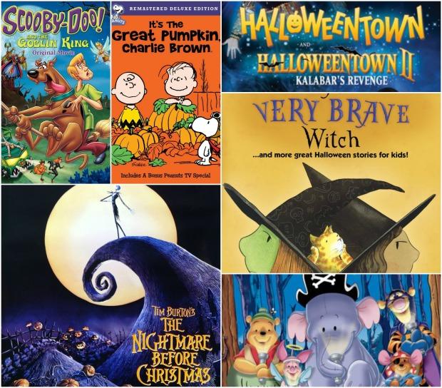 Halloween Kids Collage