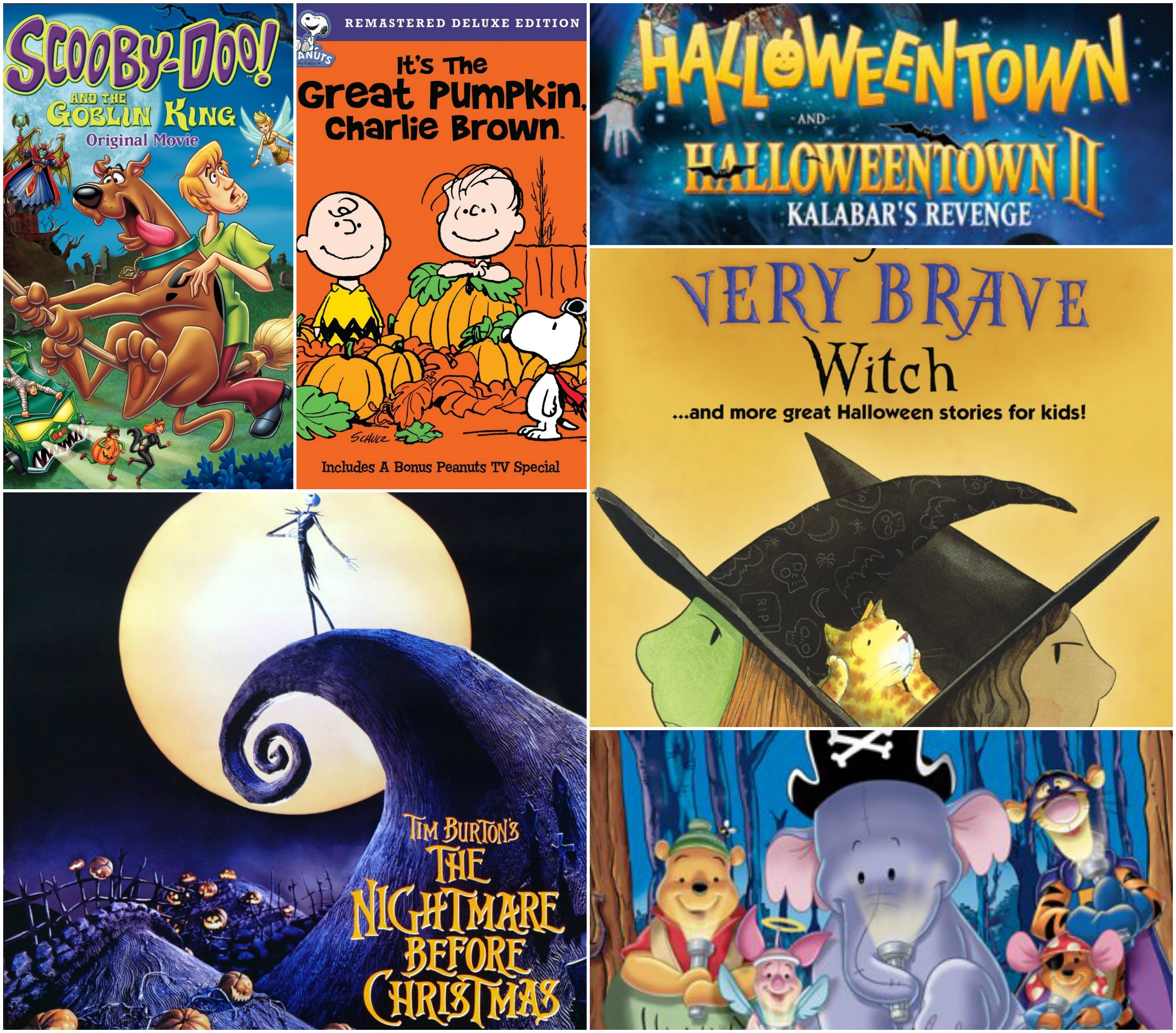 6 not-too-scary halloween movies for kids