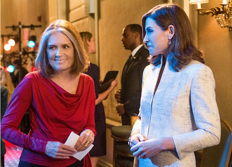 Gloria Steinem on The Good Wife