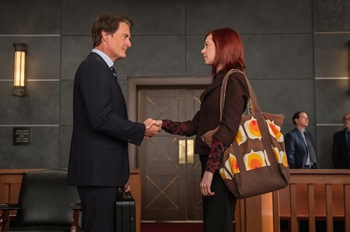 Josh Perotti (Kyle MacLachlan) and Elsbeth Tascioni (Carrie Preston), The Good Wife