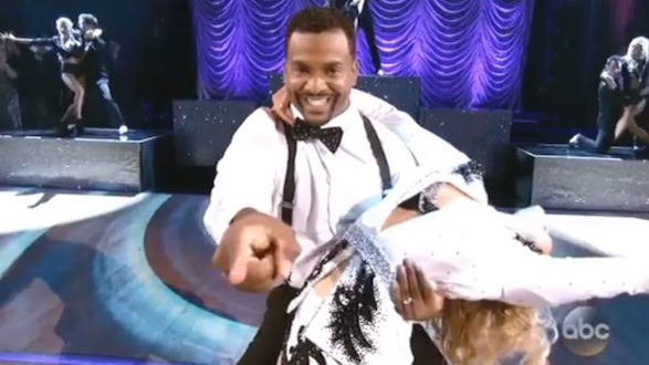 Dancing with the Stars - Alfonso and Witney