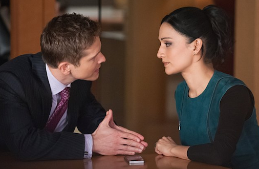 The Good Wife - Kalinda and Cary