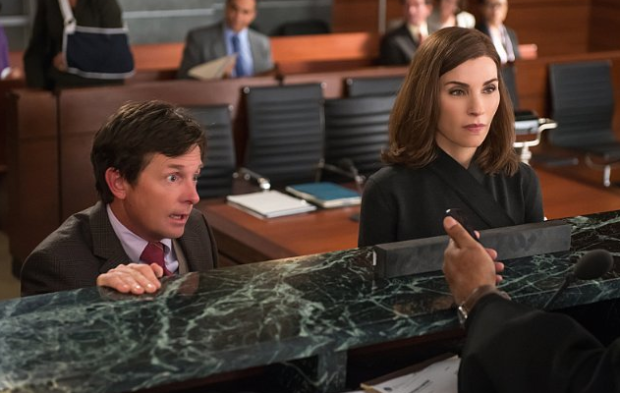 Alicia Florrick - Louis Canning, The Good Wife