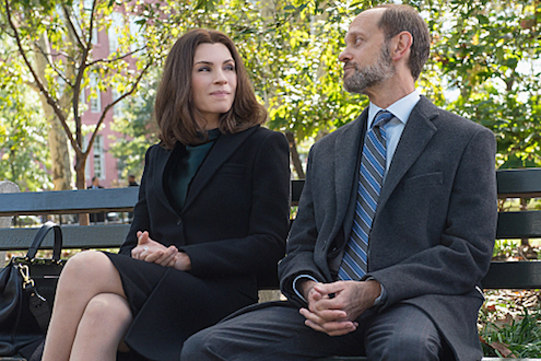 The Good Wife - Sticky Content