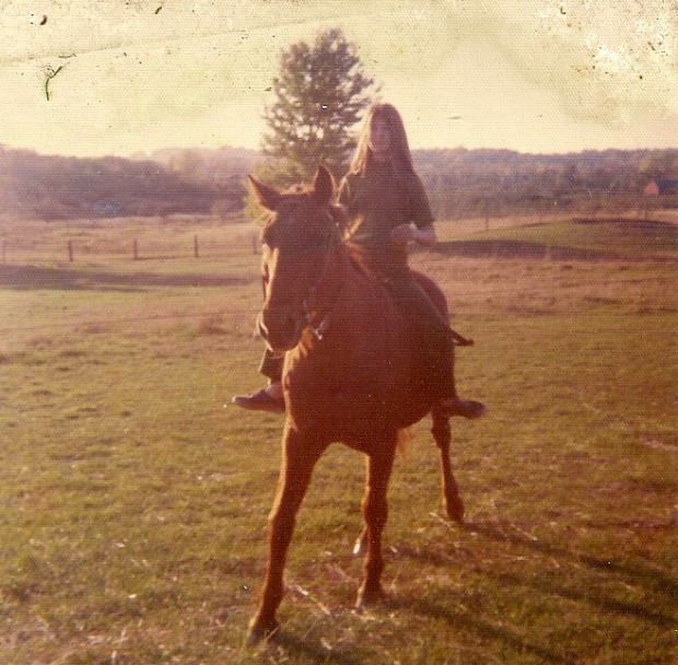 Me and Copper, circa 1974 | Mary Johnson Photo
