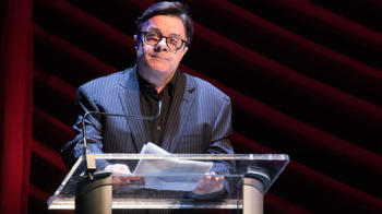 Nathan Lane pays tribute to Elaine Stritch at a memorial this week