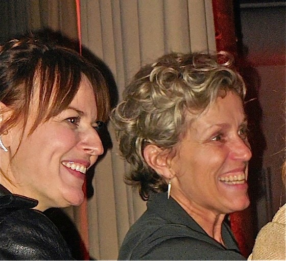Rosemarie DeWitt and Frances McDormand
