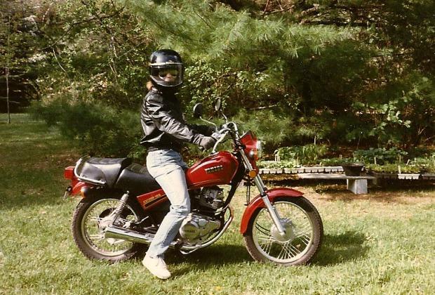 Me on my Yamaha Exciter 185 street bike, circa 1980s. I loved that bike and wish I still had it | Mary Johnson Photo