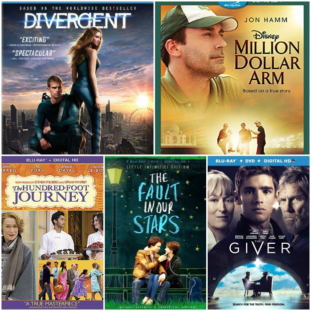 best of 2014 top 5 inspirational teen movies based on books