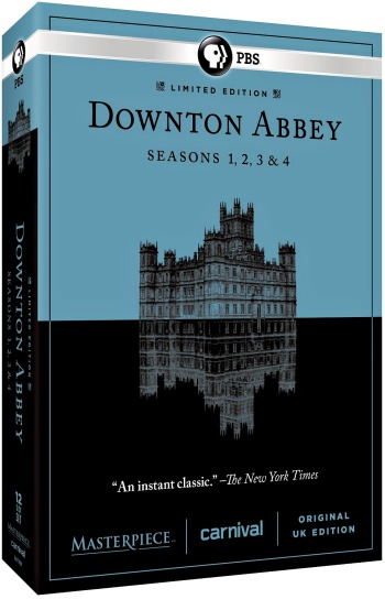 Downton Abbey 1-4