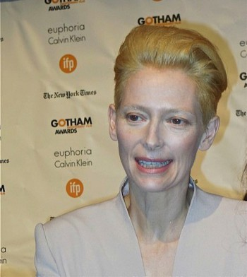 Gothams 2014: Tilda Swinton | Paula Schwartz Photo