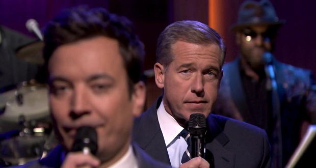 Jimmy Fallon Brian Williams Slow Jam