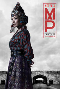 "Joan Chen as Empress Chabi in ""Marco Polo"" 