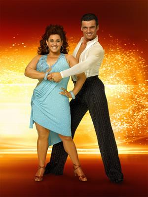 "Marissa Jaret Winokur and Tony Dovolani on ""Dancing With the Stars"" | ABC-TV Photo"