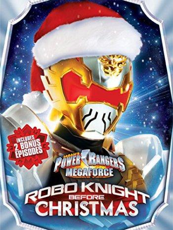 Power Rangers Megaforce Robo Knight Christmas