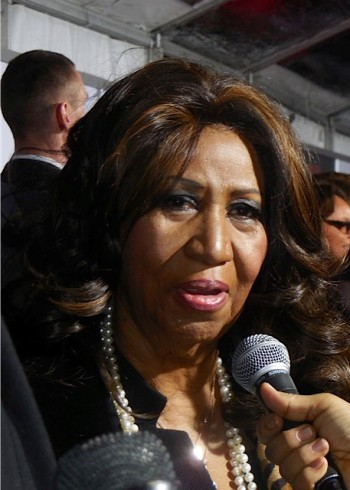 "Aretha Franklin at the NY premiere of ""Selma"" 