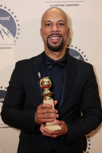 Common attends the Paramount Pictures Golden Globes Post Party at The Beverly Hilton in Beverly Hills, California on Sunday, January 11, 2015 (Photo: Brandon Clark/ABImages); Sent to Reel Life With Jane by and used with permission of Allied Integrated Media