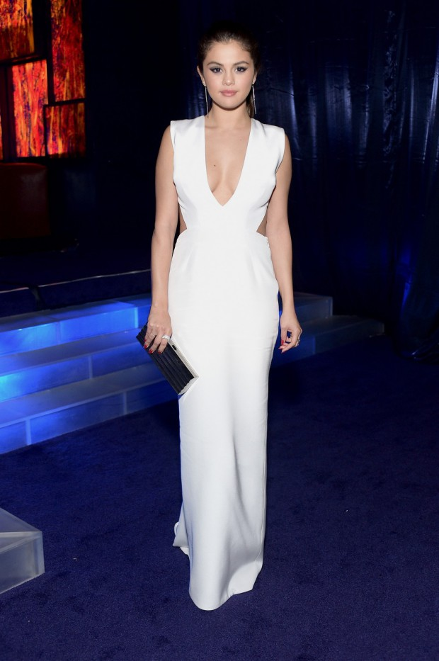 BEVERLY HILLS, CA - JANUARY 11:  Singer Selena Gomez attends the 2015 InStyle And Warner Bros. 72nd Annual Golden Globe Awards Post-Party at The Beverly Hilton Hotel on January 11, 2015 in Beverly Hills, California.  (Photo by Stefanie Keenan/Getty Images for InStyle); sent to Reel Life With Jane by and used with permission of Slate PR.