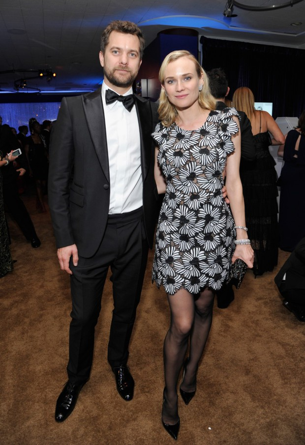 BEVERLY HILLS, CA - JANUARY 11:  Actors Joshua Jackson and Diane Kruger attend the 2015 InStyle And Warner Bros. 72nd Annual Golden Globe Awards Post-Party at The Beverly Hilton Hotel on January 11, 2015 in Beverly Hills, California.  (Photo by John Sciulli/Getty Images for InStyle); sent to Reel Life With Jane by and used with permission of Slate PR.