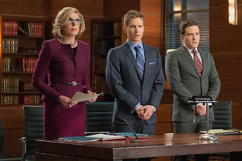 The Good Wife: Diane, Cary, and Carey