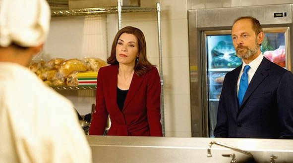 The Good Wife - Alicia and Prady
