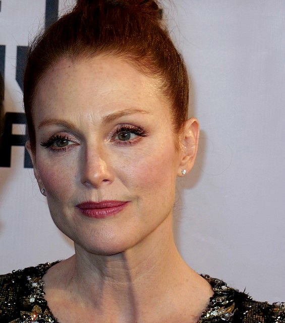 Julianne Moore at the Museum of the Moving Image Gala | Paula Schwartz Photo