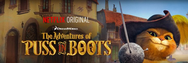 Netflix Adventures of Puss in Boots