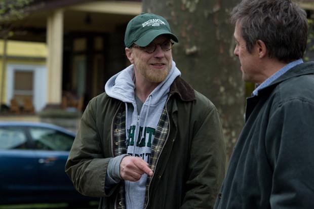 "Chris Elliott and Hugh Grant in ""The Rewrite"""