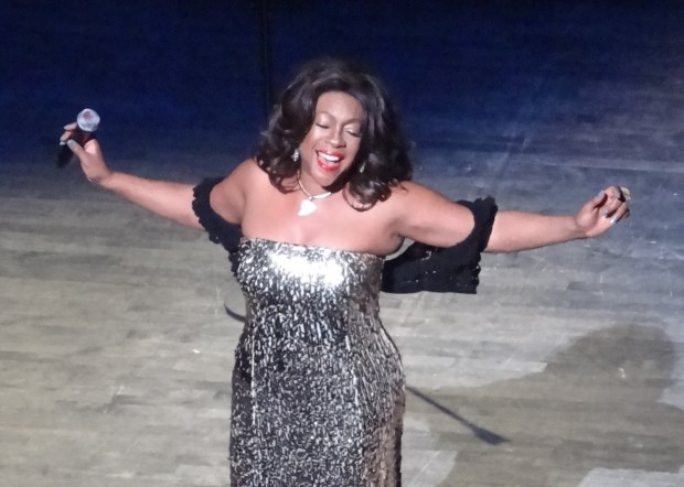 Mary Wilson, formerly of The Supremes
