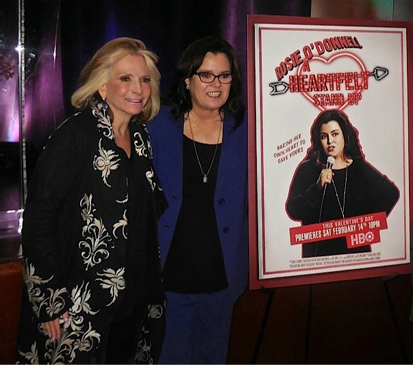 Sheila Nevins and Rosie O'Donnell at the 2015 Athena Film Festival | Paula Schwartz Photo