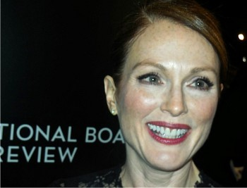 Julianne Moore at a National Board of Review event honoring her work   Paula Schwartz Photo