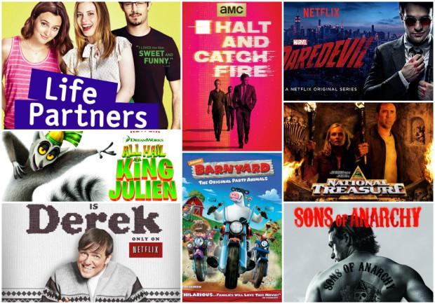 April Netflix Collage